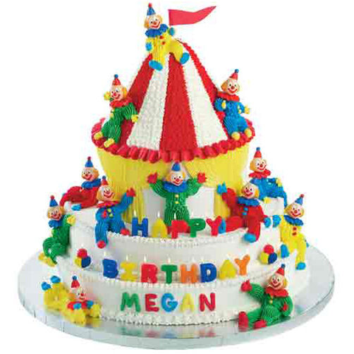 Come Join This Circus Cake