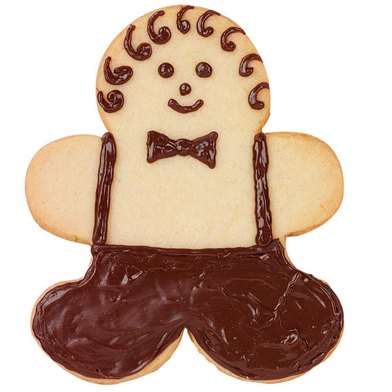Downtown Gingerbread Boy Cookie image number 0
