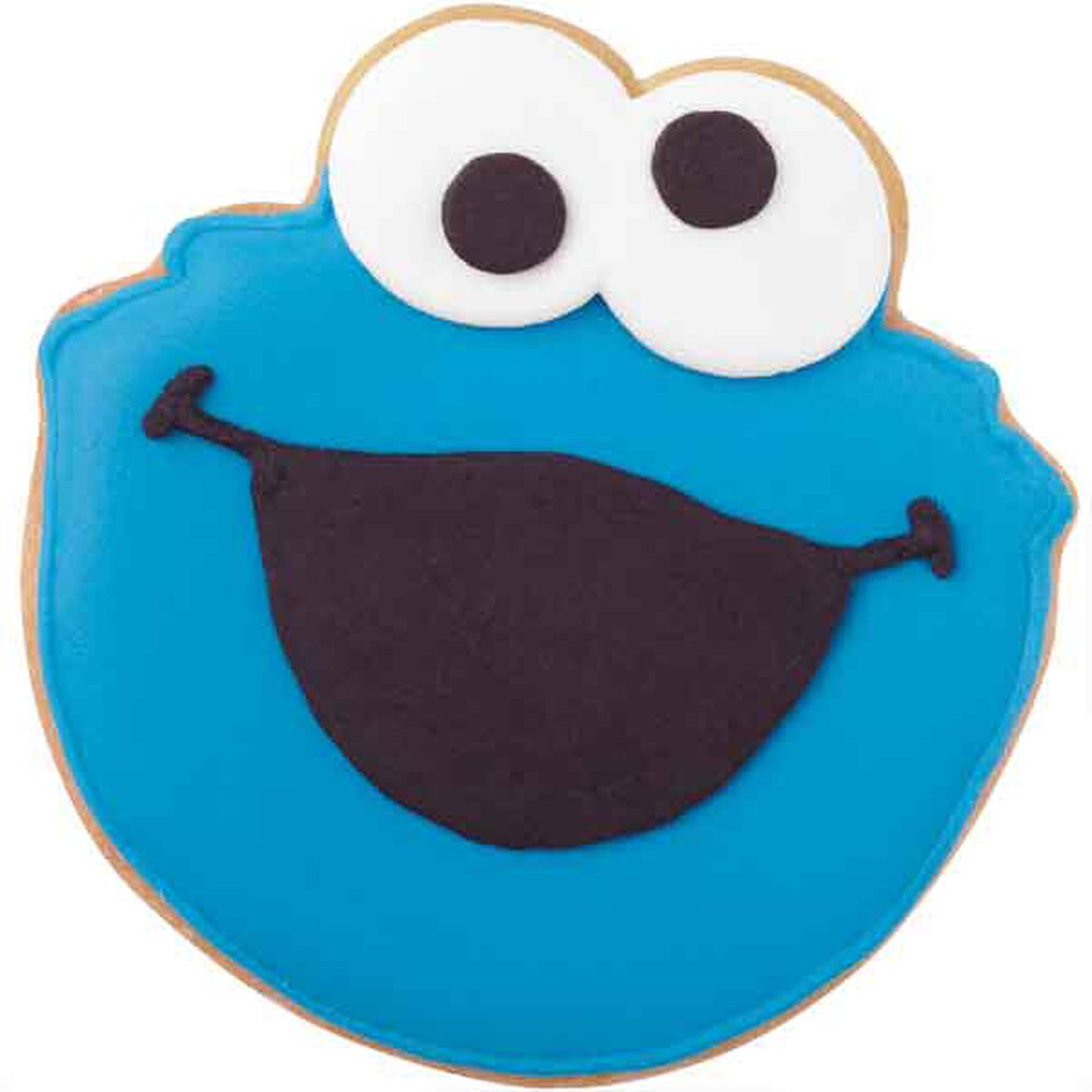Cookie Monster Cookies Wilton