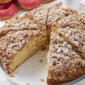 Cinnamon Pecan Streusel Coffee Cake Recipe
