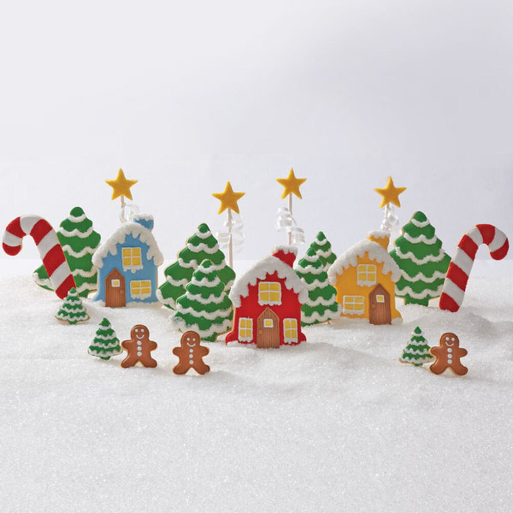 Mini Gingerbread House Diy: Decked Out Christmas Gingerbread Village