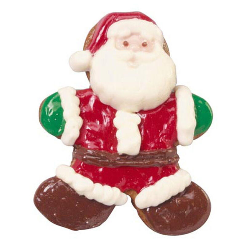 Gingerbread Santa Candy Pops image number 0