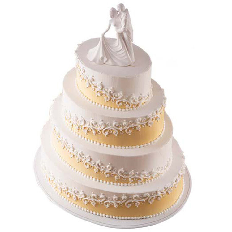 Etched On Ivory Cake