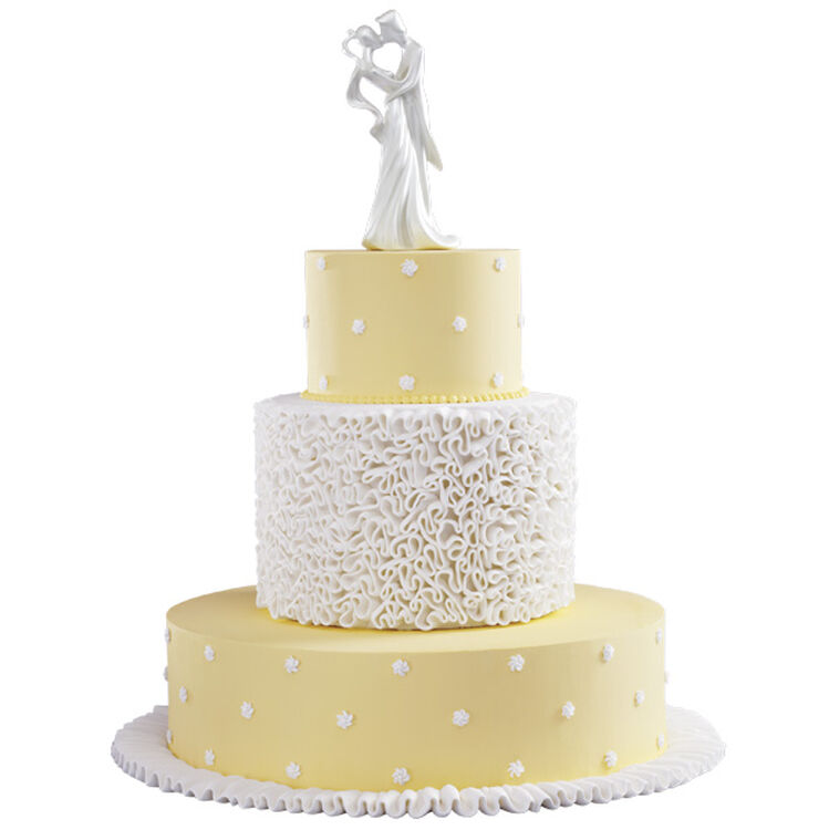 Ruffled in Romance Cake
