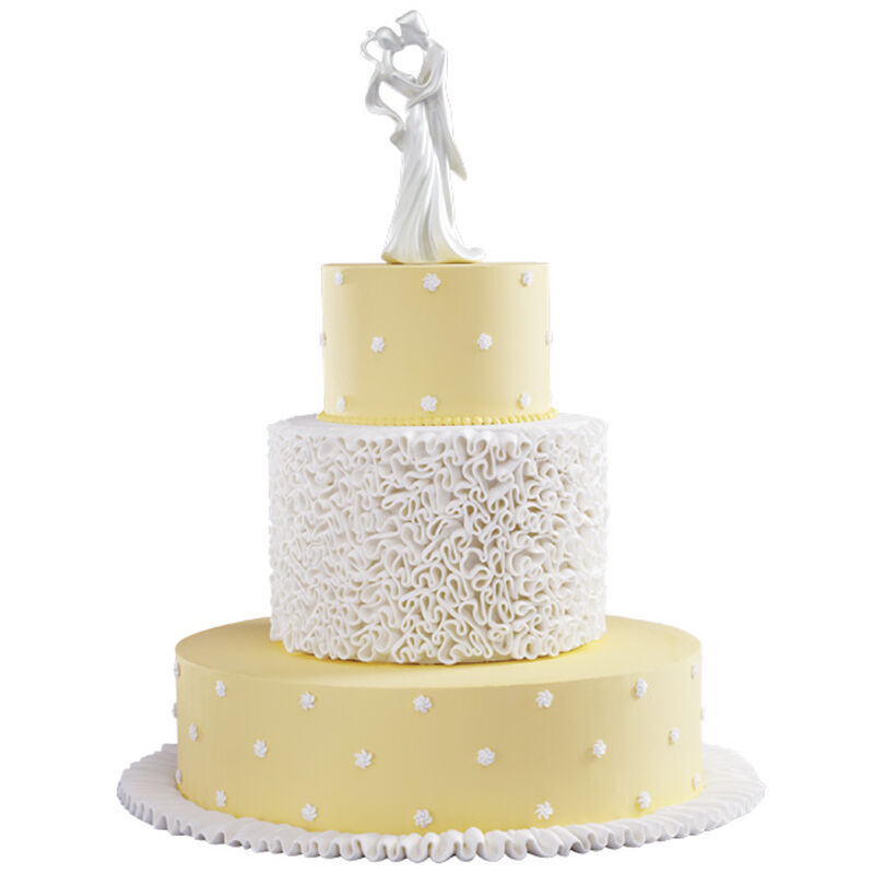 Ruffled in Romance Cake image number 0