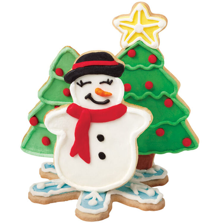 3D Holiday Cookie Scene