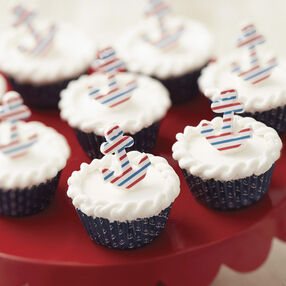 Wilton Nautical Nibbles Mini Beach Cupcakes