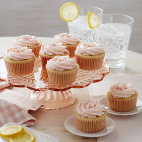Vegan Pink Lemonade Cupcakes Recipe