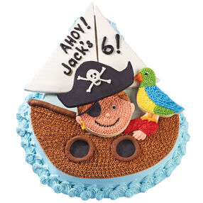 Ahoy to the Birthday Boy! Cake & Cookies