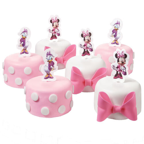 Minnie and Daisy Fashion Snack Cakes