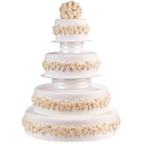 Pearl Dust Perfection Cake Wilton