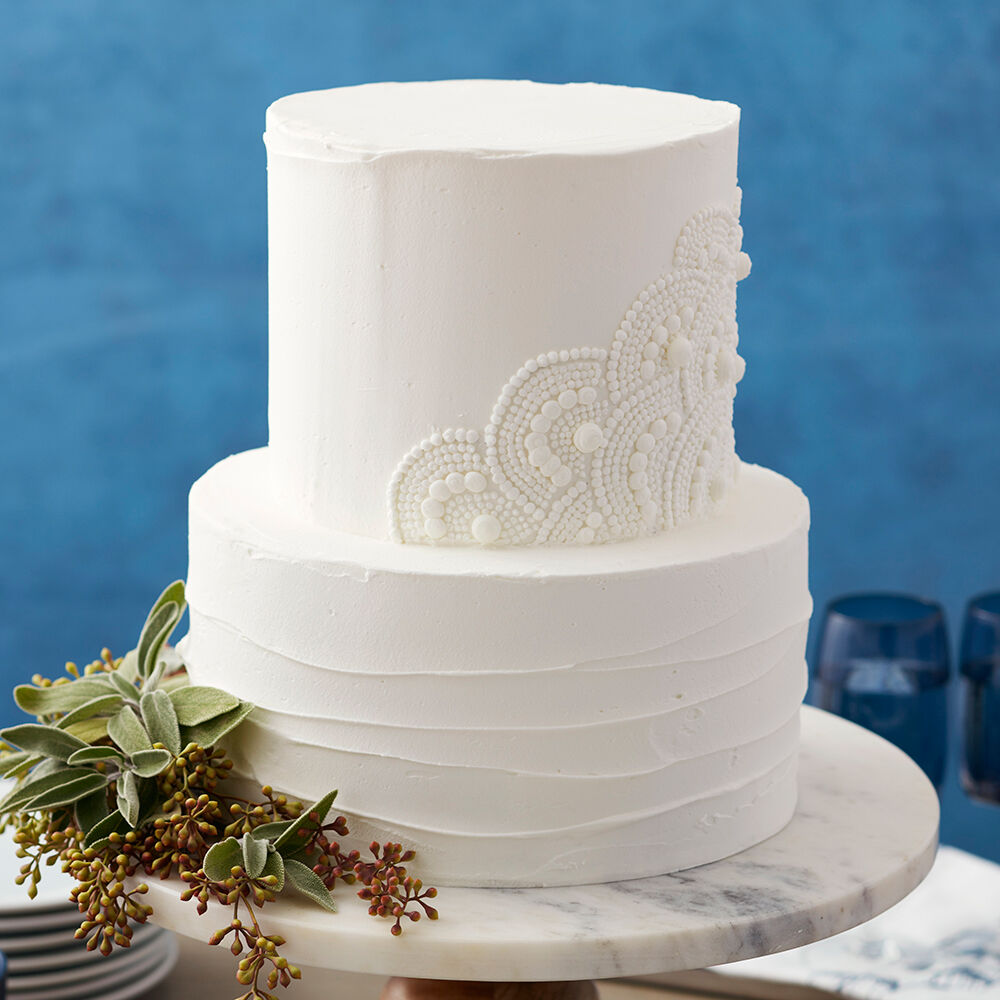mini wedding cake chocolate molds scalloped white wedding cake wilton 17411
