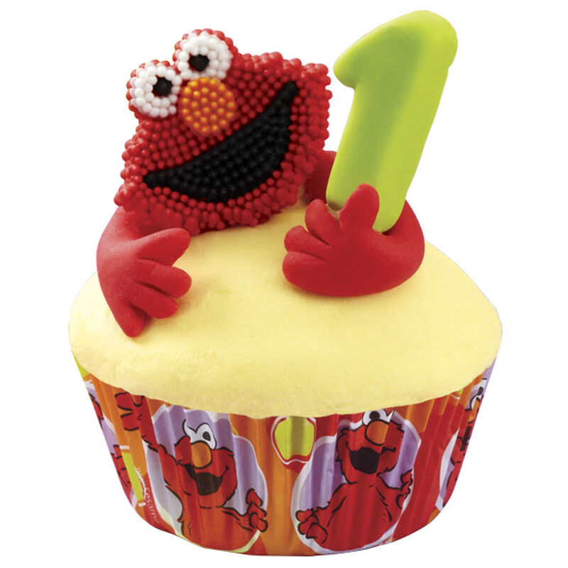 Elmo Cupcakes image number 0