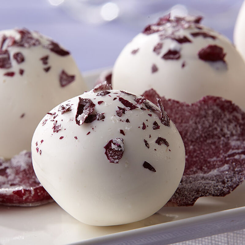 Rosewater Violet Truffles image number 2