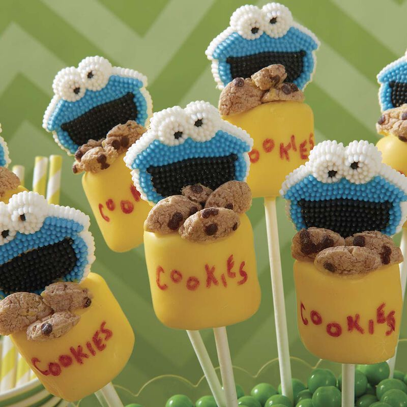 Cookie Monster's Cookie Jar Marshmallow Pops image number 1