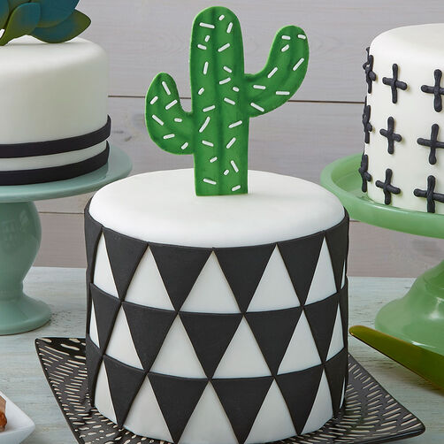 Pointy Cactus Cake
