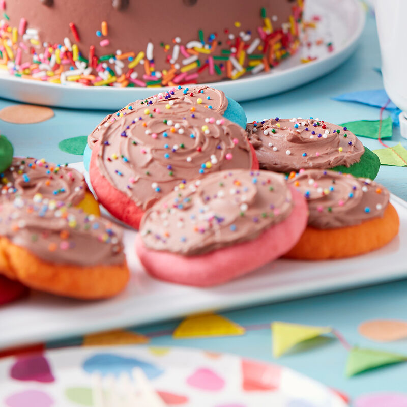Colorful Soft Sugar Cookies image number 0