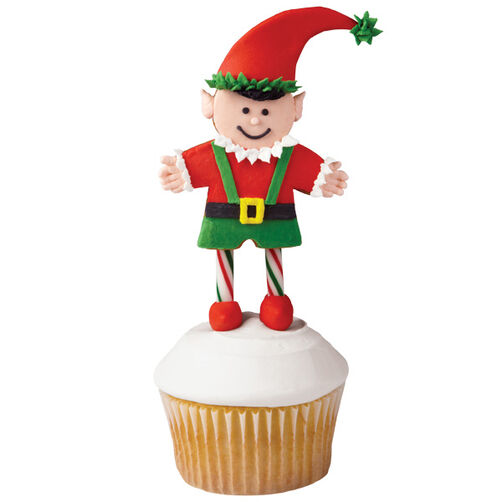 Elated it is Christmas Elf Cupcakes