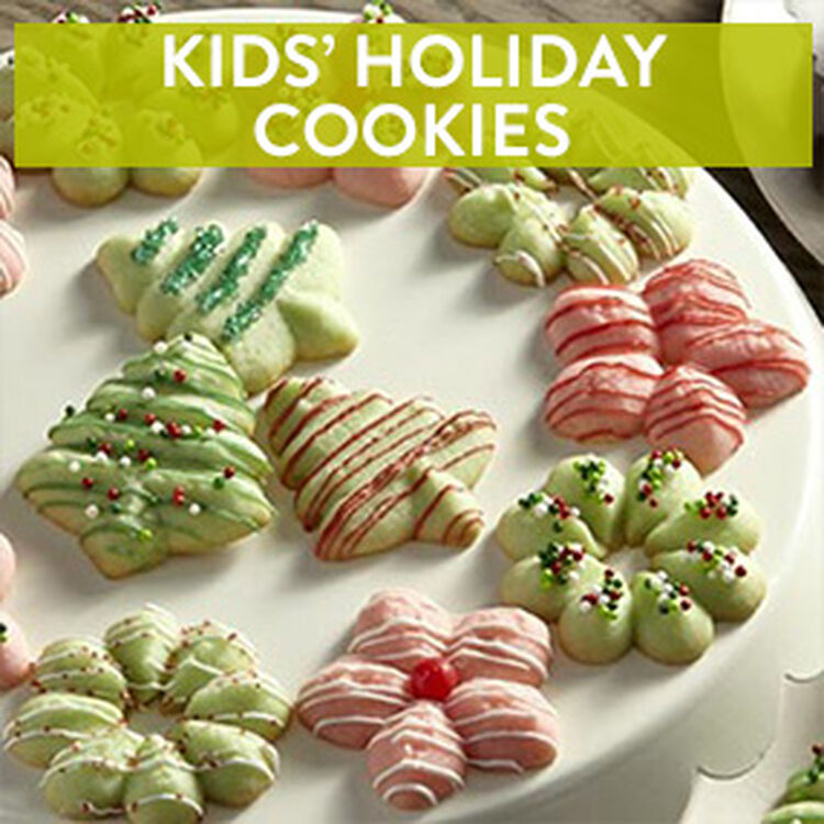 Kids' Holiday Cookies class at the Wilton School
