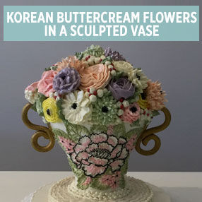 Korean Buttercream Flowers in a Vase Class