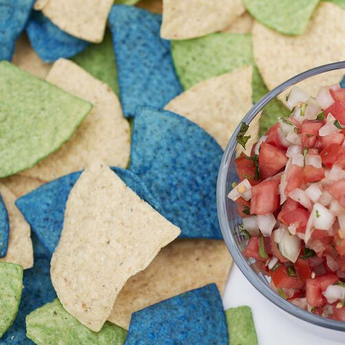 Wilton Colorful Tortilla Chips