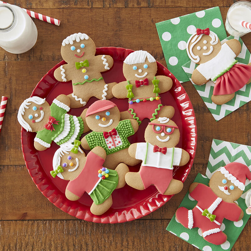 Decorated Gingerbread Cookies  image number 1