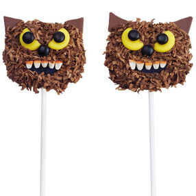 Wolf' Em Down Cookie Pops
