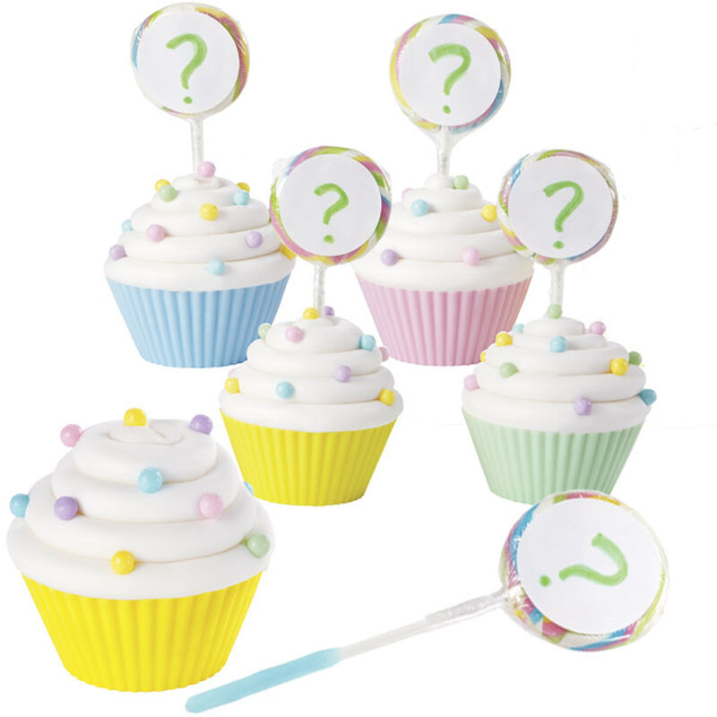 Guess What? Lollipop Cupcake image number 0