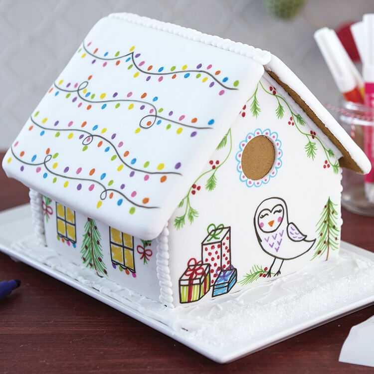 Artistic View Gingerbread House