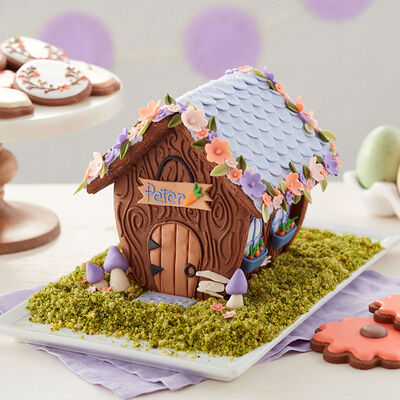 Gingerbread House Coloring Pages To Print   House colouring pages   400x400