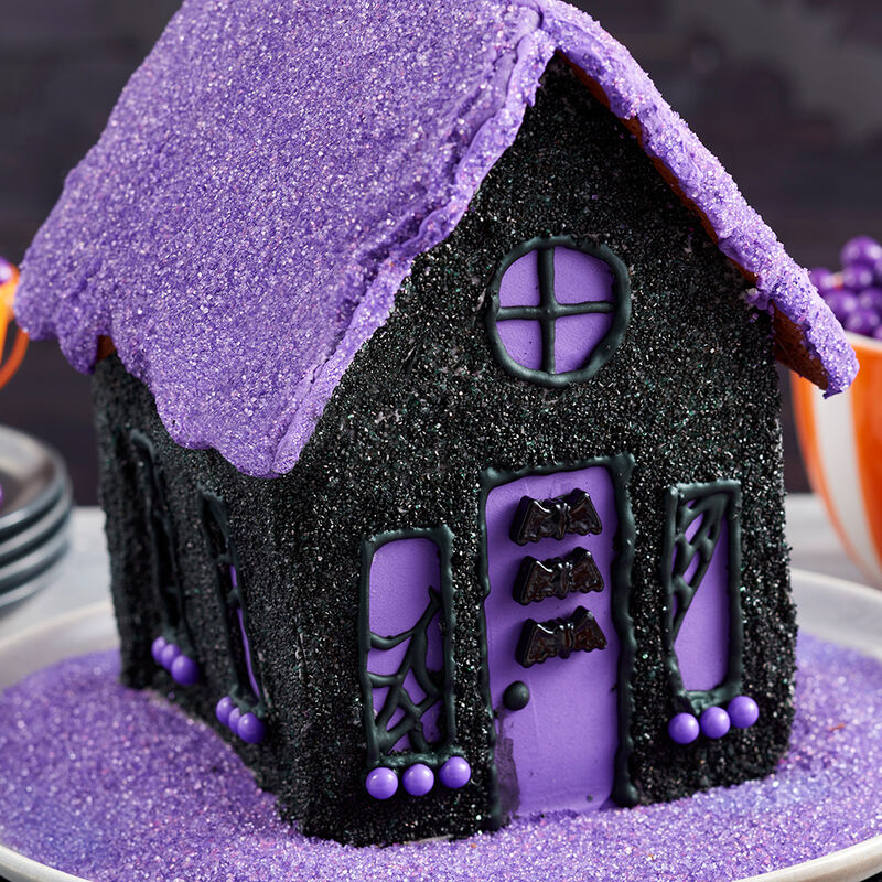 Halloween Sparkle Cookie House image number 1