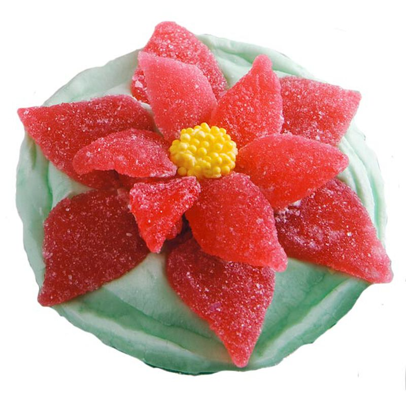 Holiday's First Flowers Cupcake image number 0