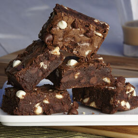 The Ultimate Quadruple Chocolate Brownie