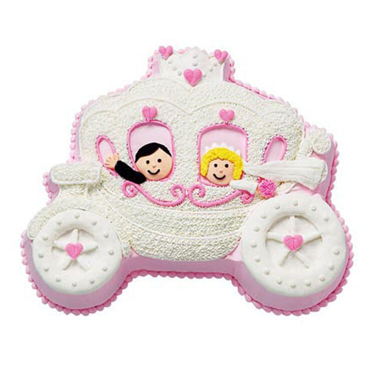 Love And Carriage Cake