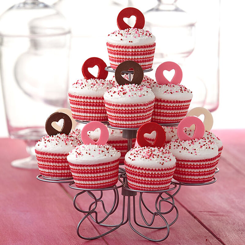 All Heart Candy-Topped Cupcakes image number 0
