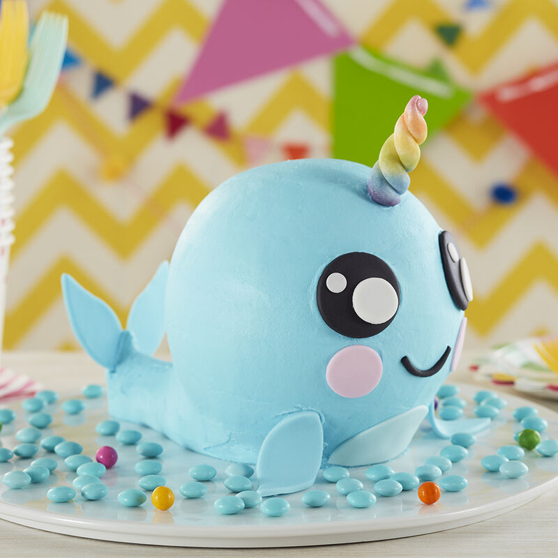 Magical Narwhal Cake image number 1