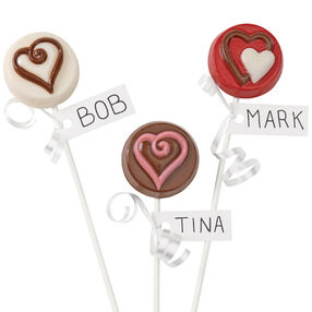 Love Candy Cookie Pops