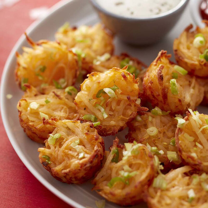 Cheesy Muffin Tin Potato Tots Recipe image number 1