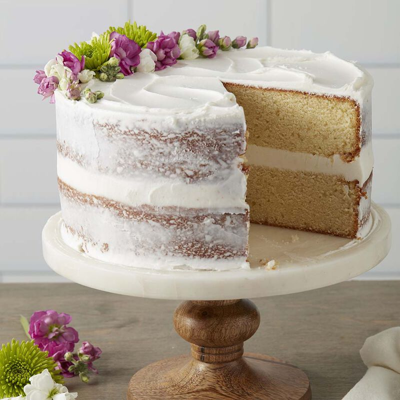 Classy White Butter Cake image number 0