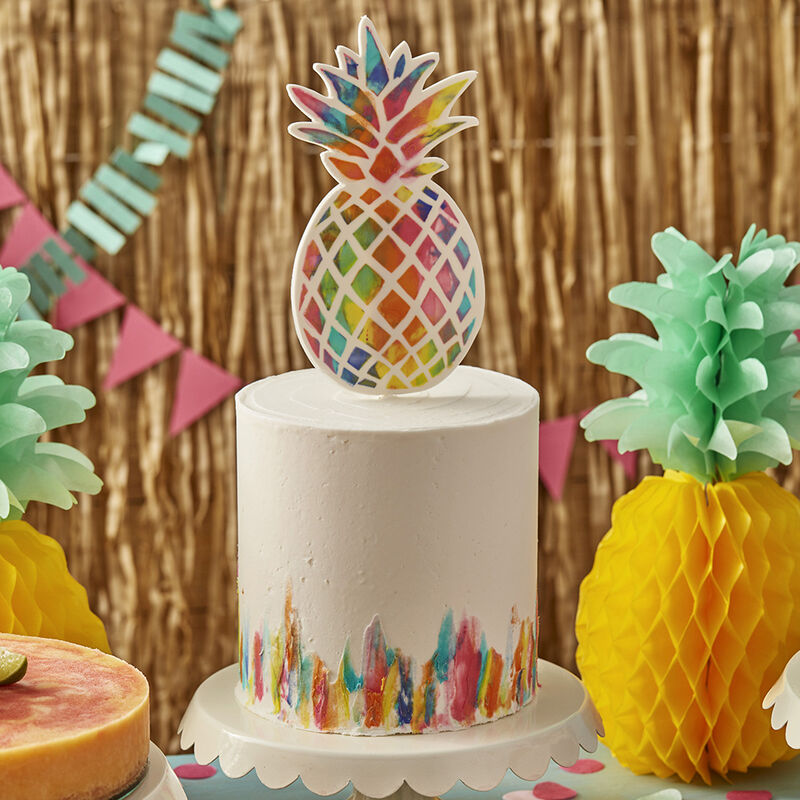 Vibrant Pineapple Cake image number 0