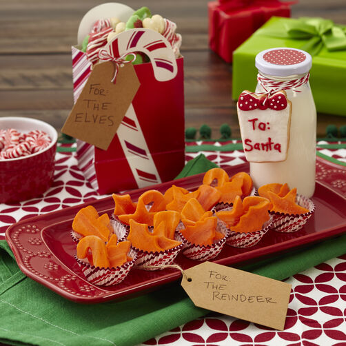 "Cookies for Santa Plate ""To Go"""