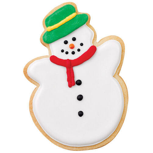 Traditional Snowman Cookie