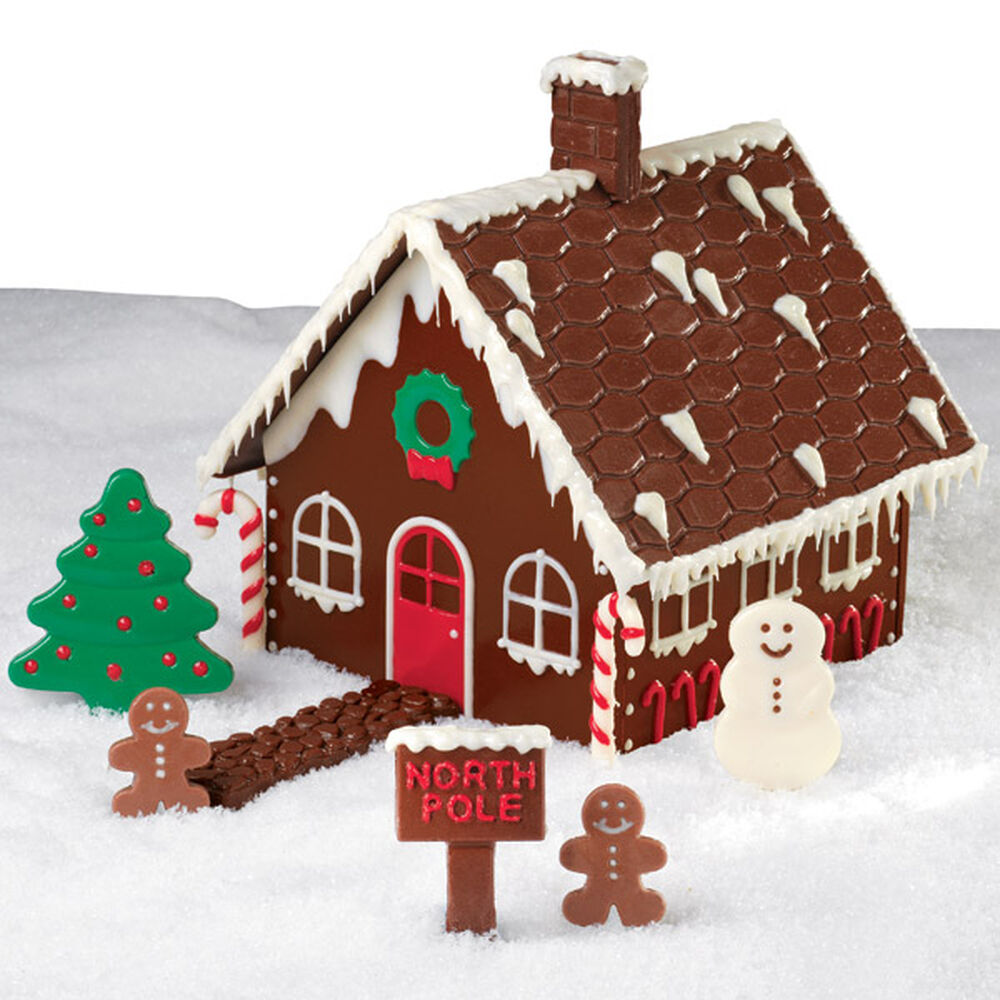 Christmas Chocolate Candy House Wilton