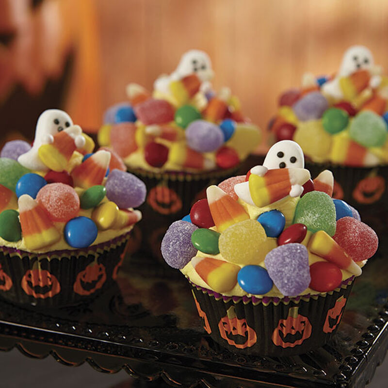 Halloween Ghost Cupcakes image number 0