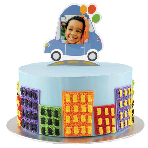 Going Places Transportation Cake
