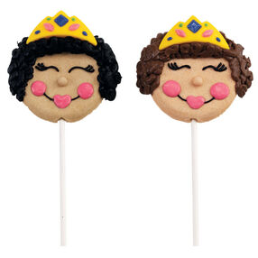 Crowned Heads Cookie Pops