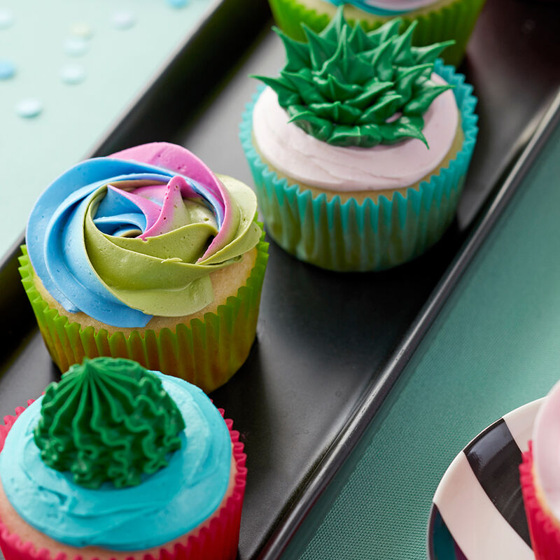Sweet Succulent Cupcakes image number 0