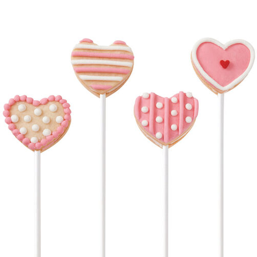 Give Your Heart Away Cookie Pops