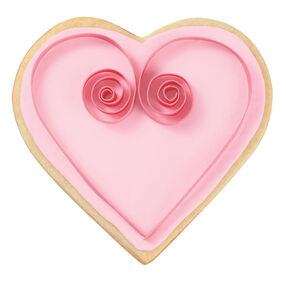 Sweetheart Swirl Cookies