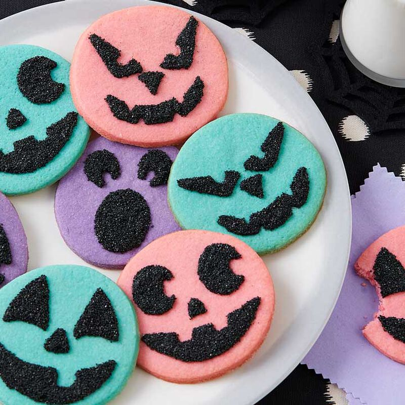 How to Make Spooky Face Cookies